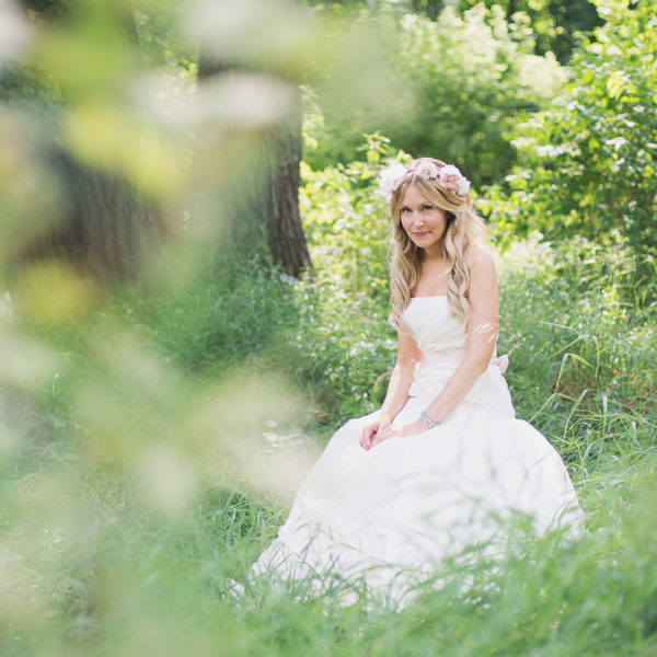 Randi on her wedding day