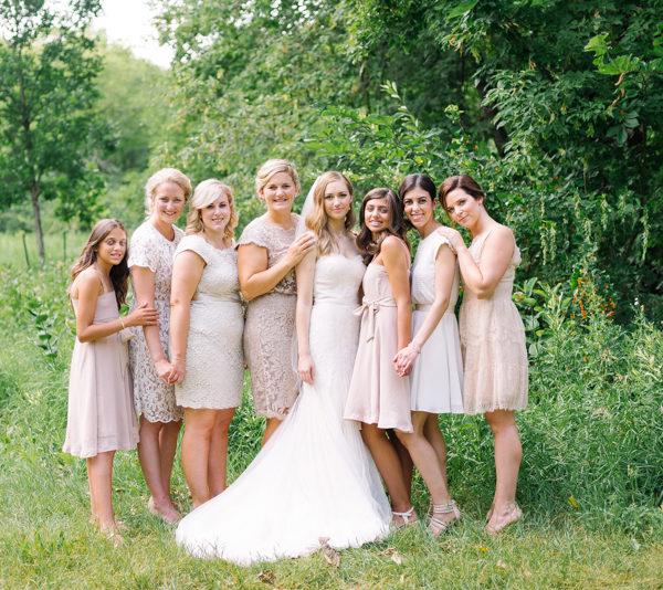 Bridesmaids are priceless! Wedding at  Winnipeg Art Gallery, Winnipeg, Manitoba