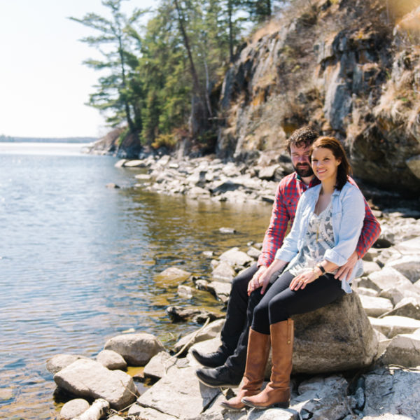 KENORA, ONTARIO ENGAGEMENT SESSION  |  CHELSEY + PATRICK